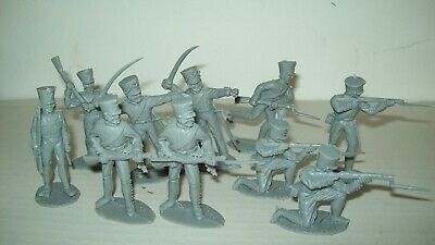 :Lot of original Timpo Toys Napoleonics in gray, playset figures