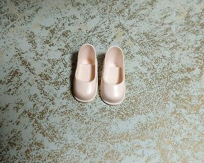 Vintage Sindy Doll Or Sindy Clone Shoes White Unmarked