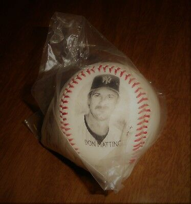 1996 Burger King Photoball Baseball Don Mattingly New York Yankees