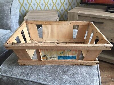 Vintage Wooden Tomato Crate