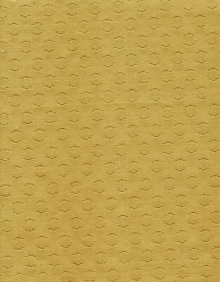 SPEAKER CLOTH Antique Radio Fabric Vintage Grille Repair - # OOG2 - Gold Circles