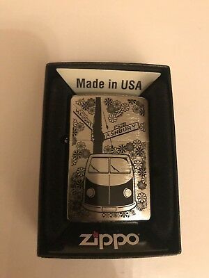 DeAgostini Collection Issue 30 FLOWER POWER CAMPER VAN Zippo Lighter New In Box