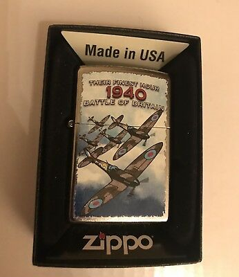 DeAgostini Collection Issue 4 Zippo Lighter BATTLE OF BRITAIN 1940 New In Box
