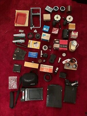 Collection Of Photographic And Darkroom Items