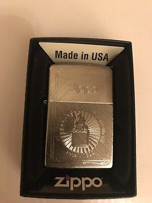 DeAgostini Issue 39 50TH ANIVERSARY Zippo Lighter Brand New In Box