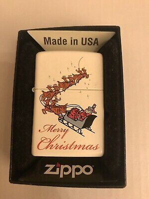 DeAgostini Collection Issue 33 MERRY CHRISTMAS Zippo Lighter New In Box