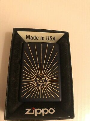 DeAgostini Collection Issue 34 ATOMIC AGE Zippo Lighter New In Box