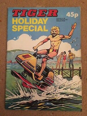 1981 TIGER comic HOLIDAY SPECIAL