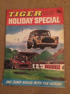 1974 TIGER comic HOLIDAY SPECIAL