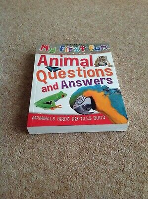 My First Fun Animal Questions & Answers by Miles Kelly Publishing Ltd