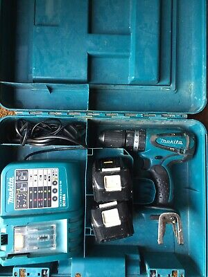 Makita BHP450 Drill with 2 X 3.0ah Batteries, Charger and Case