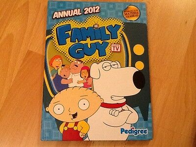 Family Guy 2012 Annual  New Unsold Shop Stock .  Collectors Condition