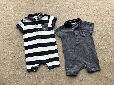 Baby Boys Clothes 3-6 Months Bundle Summer   Next Romper Day Suits Playsuit