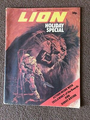 LION comic HOLIDAY SPECIAL circa 1979