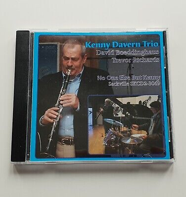 Kenny Davern Trio – No One Else But Kenny (CD) – Excellent Condition*