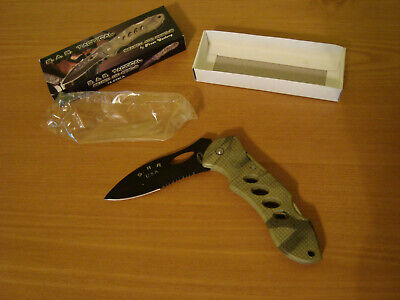 Frost Cutlery S.A.R. Tactical 16-058CA New in Box, folding lock back, JGY