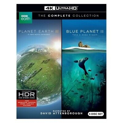 Warner Home Video Bre725271 Planet Earth Ii/blue Planet Ii (4K-Uhd Blu-Ray)