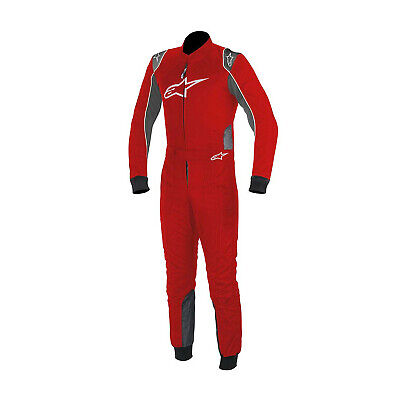 New Alpinestars KMX-9 Red Racing Suit (CIK homologation) - 58