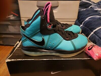 8a78cbe28e53 NIKE LEBRON 8 VIII SOUTH BEACH SZ9.5 100% AUTHENTIC pre heat VNDS OG ...
