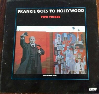 Frankie Goes To Hollywood Vinyl EP Record, Two Tribes, 1984