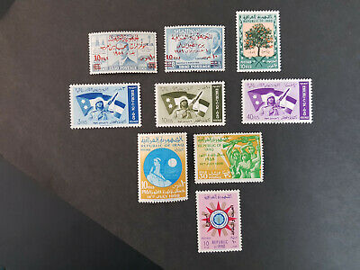 Iraq 1958-1959 King faisal II SG506-513,531  MNH OG   6 sets  CV 11 £