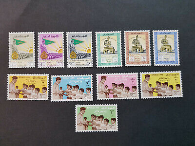 Iraq 1961 General kassem  MNH OG   2  sets    CV 11 £