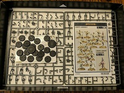 Crypt Ghouls Unit Age Of Sigmar Carrion Empire Set Sprues