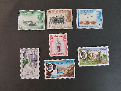 Iraq 1958 King Faisal II  MNH+MLH OG   2 sets    CV 9 £