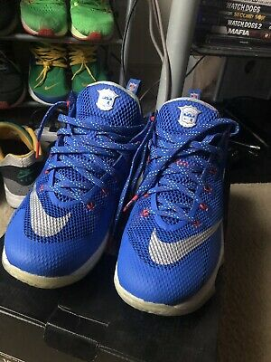 76492156221 MENS NIKE LEBRON 12 Shoes XII Low Hyper Cobalt Great Condition ...