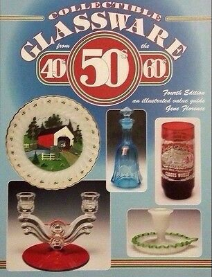 ANTIQUE GLASSWARE PRICE GUIDE COLLECTOR'S BOOK Anchor Hocking 40's 50's 60's