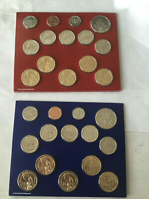 2014 P&D Complete Uncirculated Set of * 28 * Coins US Mint Sealed Box COA