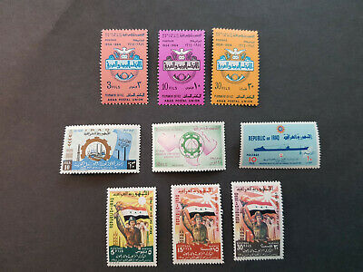 Iraq 1964-1965  Army ships Mint Never Hinged  OG  5 sets    CV 7 £