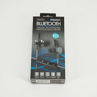 1777e591ab8 BT250BL - Sentry Bluetooth Rechargeable Metal Ear Buds, Built In Microphone