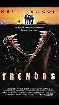 Tremors Screen Used Original Tremor Tounge Movie Prop