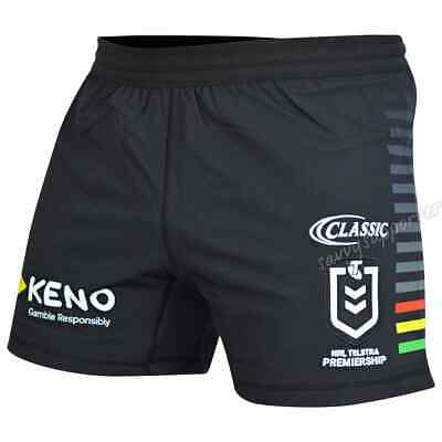 Penrith Panthers 2019 NRL Mens Home Shorts Sizes S-5XL BNWT
