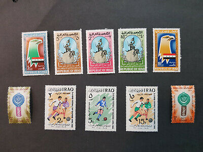 Iraq 1966 Football  MNH OG  4 sets  CV 8 £
