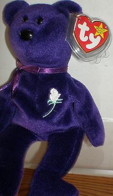 TY Princess Diana Beanie Baby Rare PE Collectible Quality Mint 1997 fa5d04f31390