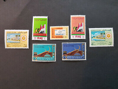 Iraq 1970 Medical Society  MNH OG  4 sets  CV 5 £