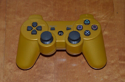 Sony Playstation3 Wireless Controller  (CECHZC2U)   Gold : Tested