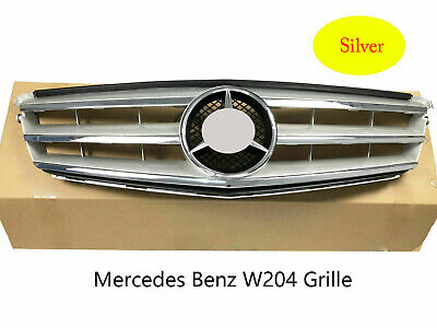 NEW GENUINE MERCEDES w204 Grille Assembly w/Center Grill
