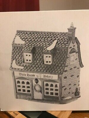Department 56 Dickens Village Series White Horse Bakery, 5926-9