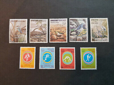 Iraq 1976  Birds   MNH OG  2 sets  CV 33 £