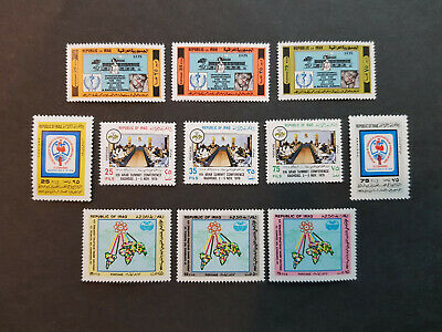 Iraq 1978  Health   MNH OG   4 sets  CV 10 £