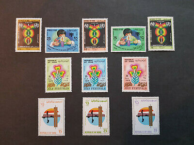 Iraq 1979-1981  Child Year    MNH OG   4 sets  CV 10 £