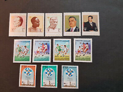 Iraq 1982-1983  Politicians Spain World Cup    MNH OG   3 sets  CV 15 £
