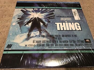 The Thing Laserdisc