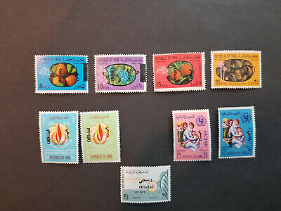 Iraq 1971-1972 Official series  MNH OG  4 sets   CV 67 £