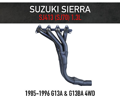 Headers / Extractors for Suzuki Sierra & Drover 4WD 1300cc + FREE GASKET