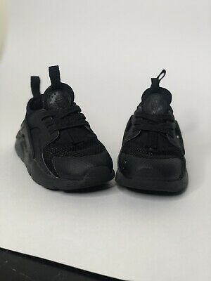 3af8a7fa03ef Nike Air Huarache Run Toddler Athletic Sneaker Shoes Triple Black Size 8C