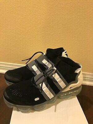 Nike Air Vapormax Flyknit Utility Black White AH6834 003 Men's Size 11.5